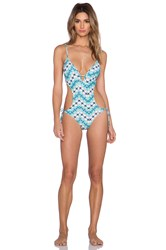 Vix Swimwear Cut Out Swimsuit Voyage