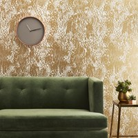 Cb2 Jackson Gold And Ivory Traditional Paste Wallpaper