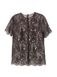 Christopher Kane Clef Lace T Shirt