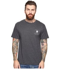 O'neill Proprietor Short Sleeve Screens Impression T Shirt Heather Black Men's T Shirt