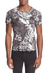 Men's Just Cavalli 'Jungle Tattoo' Graphic T Shirt