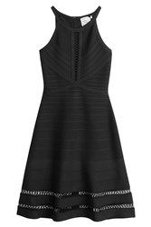 Herve Leger Herve Leger Bandage Dress Black