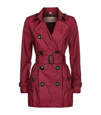 Burberry Brit Kerringdale Technical Trench Coat Female Pink