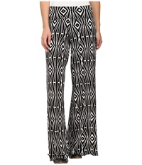 Stetson Aztec Print Pant Black Women's Casual Pants