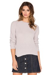 Fine Collection Crew Neck Sweater Gray