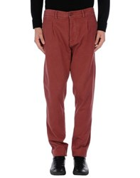Met And Friends Trousers Casual Trousers Men Cocoa