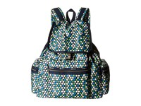 Le Sport Sac 3 Zip Voyager Travel Daisy Handbags Blue