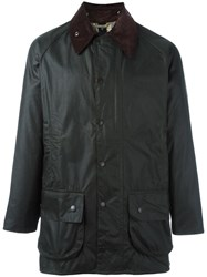 Barbour Patch Pocket Raincoat Black