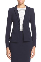 Women's Armani Collezioni One Button Crepe Jersey Jacket