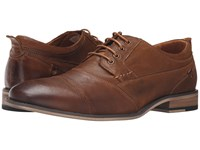 Steve Madden Jessup Dark Tan Men's Lace Up Casual Shoes Brown