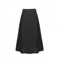 Each X Other Pleated Wool Culottes Black