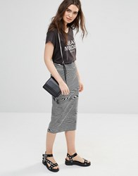 Cheap Monday Dream Skirt Dirty White Grey