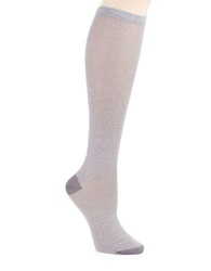 Kate Spade Sparkle Knee Hi Socks Big Smoke