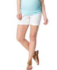 Motherhood Maternity Secret Fit Belly Cargo Shorts