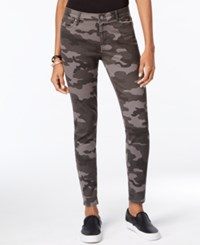 Calvin Klein Jeans Camouflage Print Skinny Camo Grey