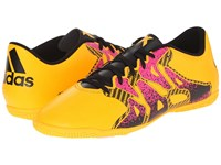 Adidas X 15.4 In Solar Gold Black Shock Pink Men's Soccer Shoes Red