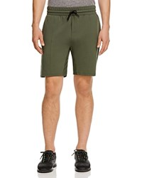 Uncl Dart Double Knit Shorts Army Green