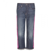Marc By Marc Jacobs Annie Boyfriend Jeans Benji With Tape