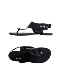 Diesel Footwear Thong Sandals Women Black