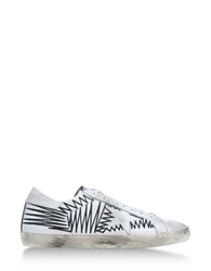 Golden Goose Low Tops And Trainers White