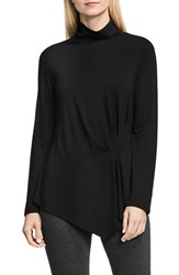 Vince Camuto Women's Ruched Side Turtleneck Top