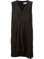 Sonia By Sonia Rykiel Ruffle Detail Dress Black