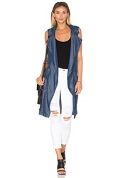 Sanctuary Mari Duster Blue