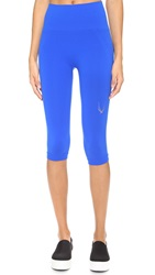 Lucas Hugh Technical Knit Capri Leggings Azure
