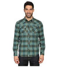 Prana Holdstad Shirt Cargo Green Men's Long Sleeve Button Up