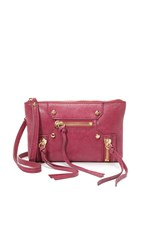 Botkier Logan Cross Body Wristlet Sangria
