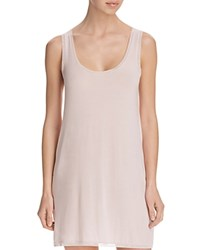 Addiction Mesh Trim Chemise Blush