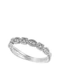 Lord And Taylor Diamond Ring 14Kt. White Gold