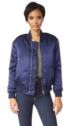 Finders Keepers Claude Bomber Jacket Ink
