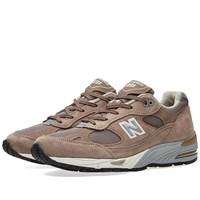 New Balance Womens W991efs Made In England Brown