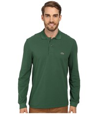 Lacoste L S Classic Pique Polo Appalachan Green Men's Long Sleeve Pullover