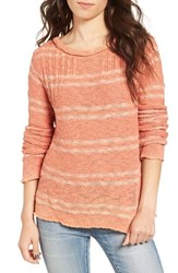 Rip Curl Women's Moonglow Knit Pullover Salmon