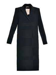 Roksanda Ilincic Trimble Canvas Panelled Cady Coat