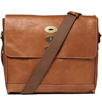 Mulberry Brynmore Leather Messenger Bag Brown