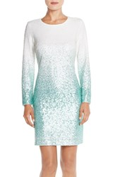 Women's Maia Ombre Sequin Sheath Dress
