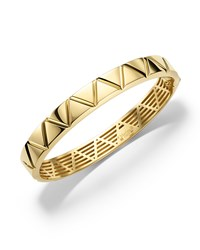 18K Yellow Gold Triangoli Bangle Bracelet Marina B