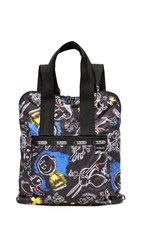 Le Sport Sac Peanuts X Lesportsac Everyday Backpack Chalkboard Snoopy
