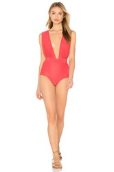 Lenny Niemeyer Chic One Piece Coral