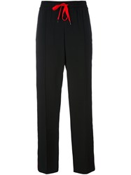Kenzo Striped Track Pants Black