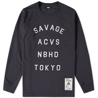 Neighborhood Svg Archives By Long Sleeve Sant 1 Tee Black