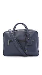 Marc By Marc Jacobs Embossy Johnny Briefcase Ink Blue