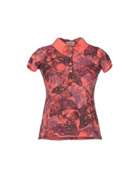 Authentic Original Vintage Style Polo Shirts Coral