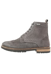 Superdry Brad Stamford Laceup Boots Grey
