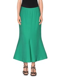 Space Style Concept Skirts 3 4 Length Skirts Women Green