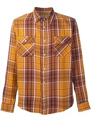 Levi's Vintage Clothing Plaid Shirt Brown