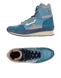Dsquared2 Footwear High Tops And Trainers Men Pastel Blue